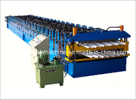 Double Sheel Roof Tile Roll Forming Machine