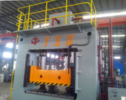 150t Frame Type Hydraulic Press with Hydraulic Cushion (Y27-150)