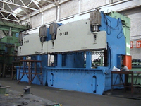 2x300t CNC Hydraulic Tandem Press Brake (2-WE67K-300/4000)