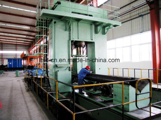 Steel Pipe Straightening Press with 2 Axis (TDW98Y-630/1422*8000)