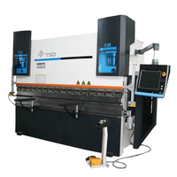 Small Hydraulic CNC Sheet Metal Press Brake (WE67K-160/3200)