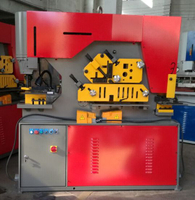 High-performing Hydraulic Ironworker (90T 20mm Φ 30mm)