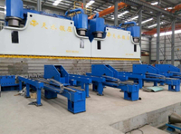 Tandem Press Brake for Electrical Pole Tower (2-WE67K-800/7000 DA56S)