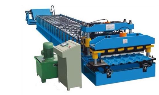 Glazed Tile Sheet Roll Forming Machine
