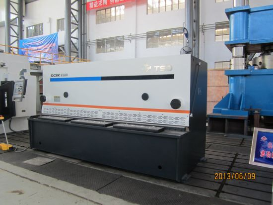 8m Hydraulic Guillotine Shear Machine (QC11Y-8X3200)